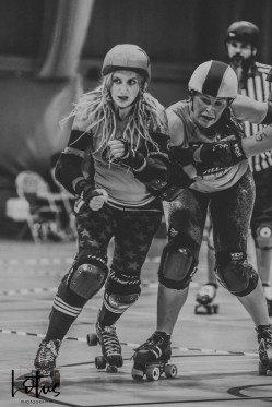Lotus Phtotography Bournemouth Dorset Roller Girls Roller Derby Sport Photography 76-2