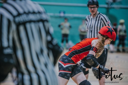 Lotus Phtotography Bournemouth Dorset Roller Girls Roller Derby Sport Photography 87