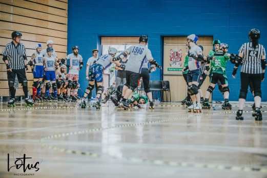 Lotus Photography UK Bournemouth British Roller Derby Championships Bristol vs Wales 104_