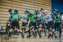 Lotus Photography UK Bournemouth British Roller Derby Championships Bristol vs Wales 107_