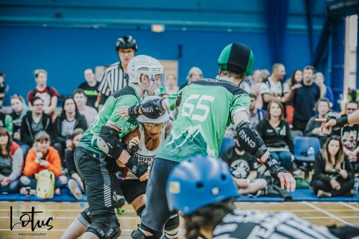 Lotus Photography UK Bournemouth British Roller Derby Championships Bristol vs Wales 28_