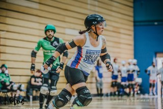 Lotus Photography UK Bournemouth British Roller Derby Championships Bristol vs Wales 86_