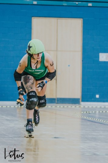 Lotus Photography UK Bournemouth British Roller Derby Championships Whippin' Hinnies vs Hull 2_