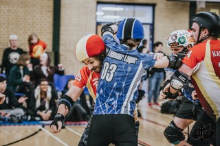 Dorset Knobs London Roller Derby Lotus Photography Bournemouth Dorset Sports Photography 13
