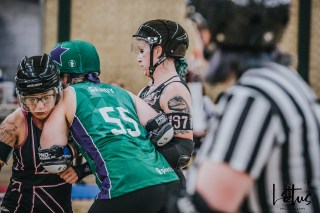 SWAT London Roller Derby Lotus Photography Bournemouth Dorset Sports Photography 112