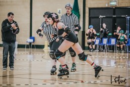 SWAT London Roller Derby Lotus Photography Bournemouth Dorset Sports Photography 145