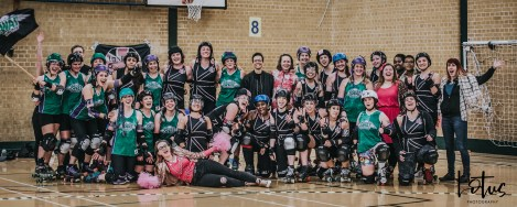SWAT London Roller Derby Lotus Photography Bournemouth Dorset Sports Photography 160