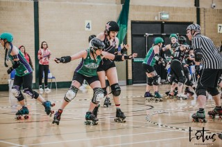 SWAT London Roller Derby Lotus Photography Bournemouth Dorset Sports Photography 54