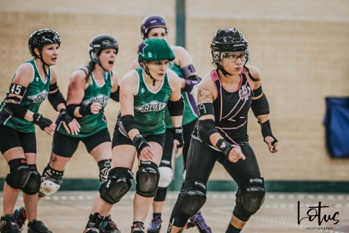 SWAT London Roller Derby Lotus Photography Bournemouth Dorset Sports Photography 80