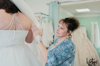 Lotus Photography Bournemouth Poole Dorset Hampshire Brides With Curves Emma Kay MUA Dress Fitting 20190804 173