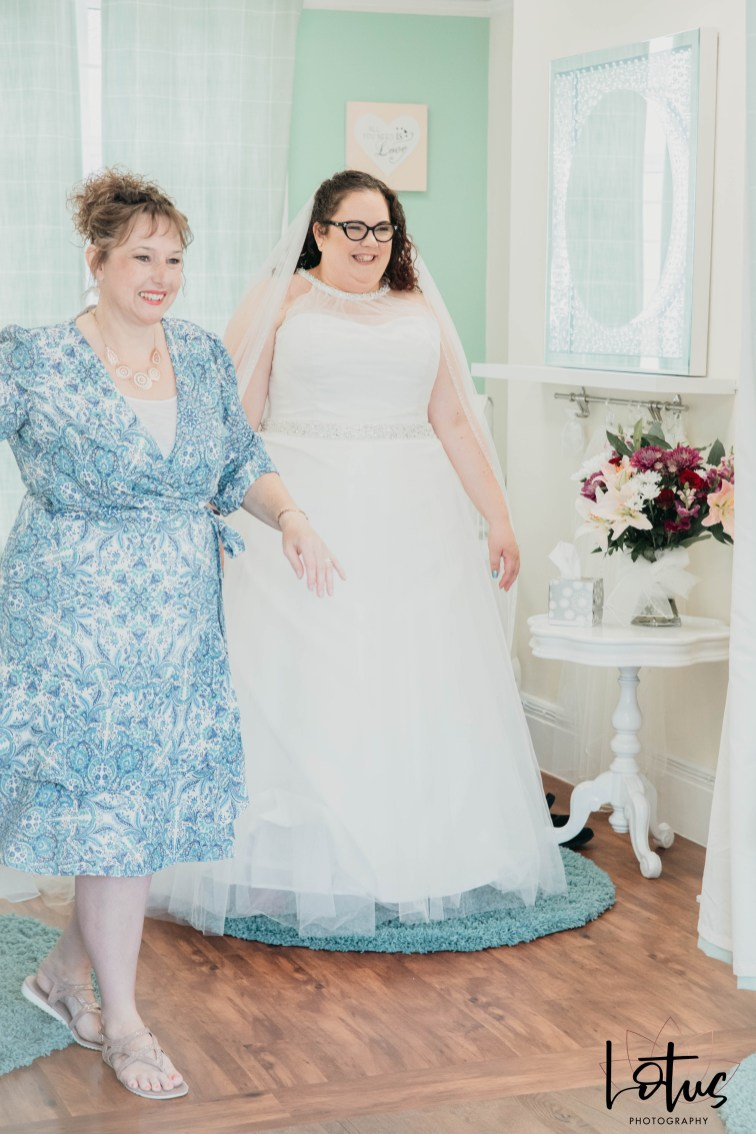 Lotus Photography Bournemouth Poole Dorset Hampshire Brides With Curves Emma Kay MUA Dress Fitting 20190804 96