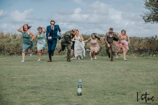 Lotus Photography UK 20190831 Jen & Ad Wedding Tintagel Cornwall Festival Wedding Tipi 219