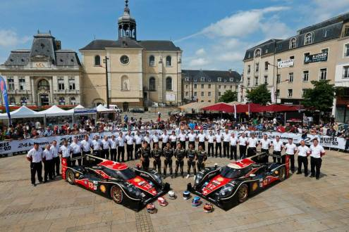 Lotus LMP1 Rebellion Racing Le Mans