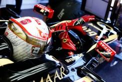 Romain Grosjean, Lotus F1.