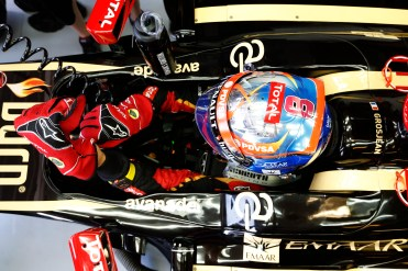 Romain Grosjean, Lotus F1.
