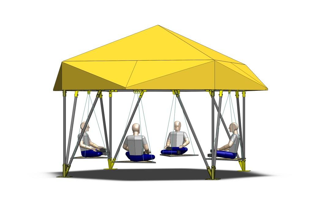 Platonic Polyhedron Pagoda
