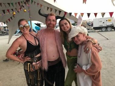 Kristi, Wim, Siena and Chans.