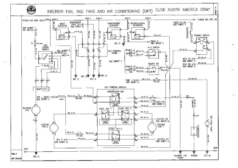 Need Wiring Diagram For A/C HVAC Controls