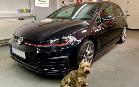 VW Golf7 GTI black