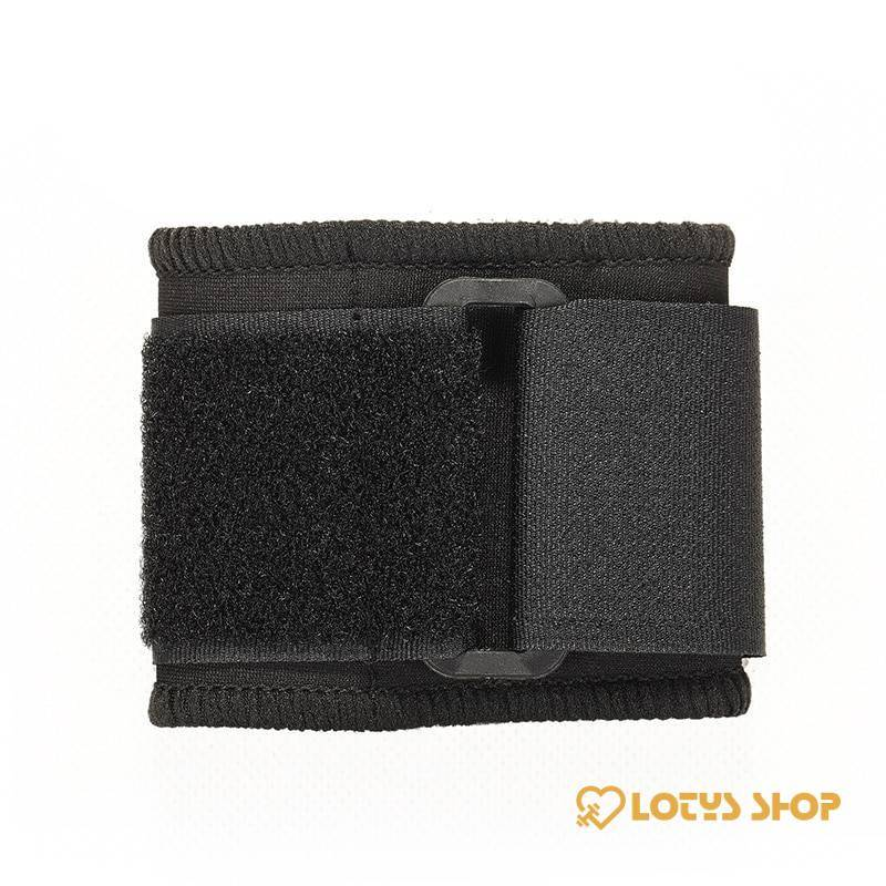 Elastic Soft Pressurized Wrist Band Sport Gadgets color: Black|Blue