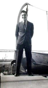 Lou and Augie's suit in San Francisco May 1942