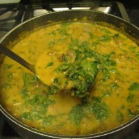 Butternut Squash, Kale & Italian Sausage Soup