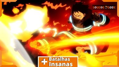 Fire Force - batalhas