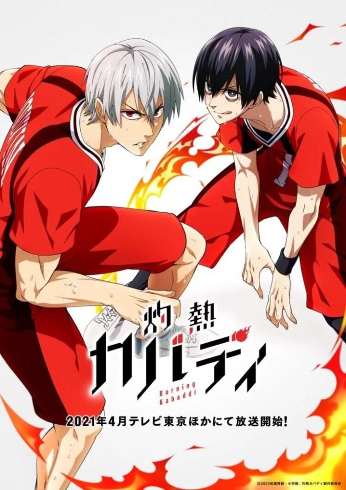 Burning Kabaddi Visual do Anime
