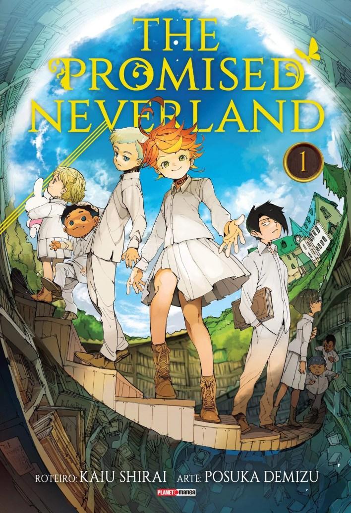 Capa do Manga - The Promised Neverland