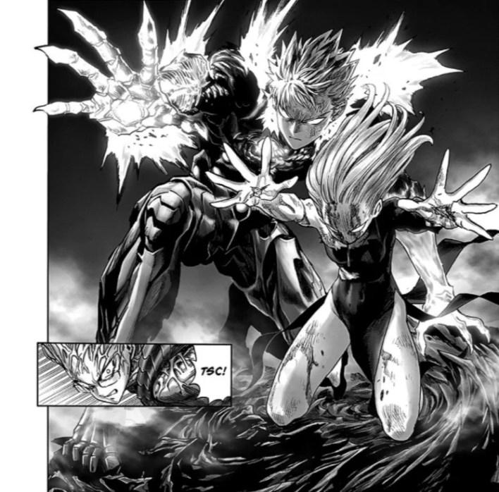 One Punch Man Capítulo 172 - Genos e Tatsumaki