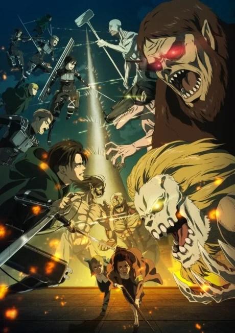 Shingeki no Kyojin The Final Season - Todos os direitos reservados