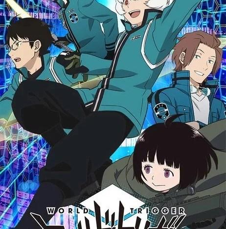 World Trigger Ilustração da 2 º Temporada