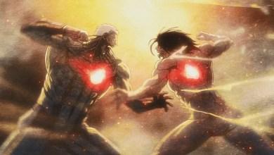 Eren vs Reiner shingeki