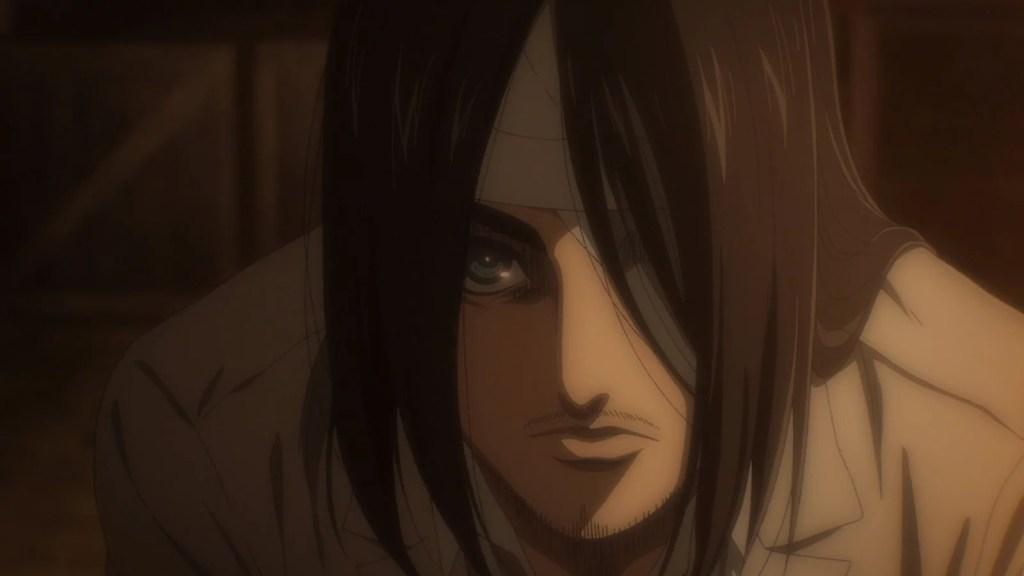 Shingeki no Kyojin 4ª Temporada Episódio 4 - Eren se Revela