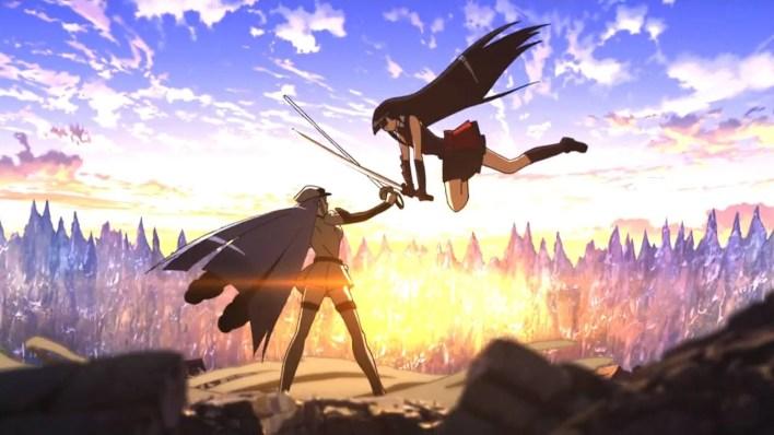 Akame vs Esdeath melhores lutas