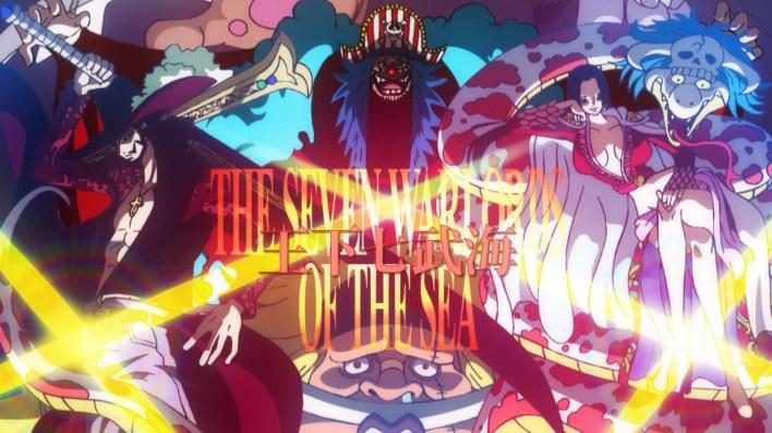 One Piece Episódio 957 - Shichibukais