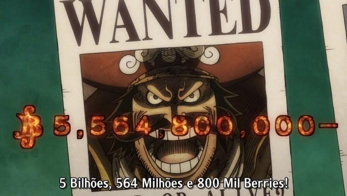 One Piece Episódio 958 - Recompensa de Roger