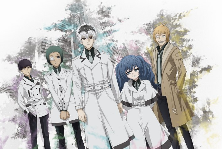 tokyo ghoul - re Anime