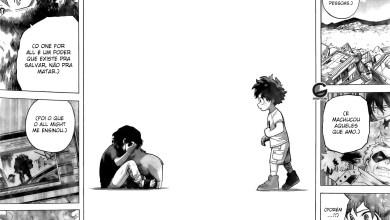 Capítulo 305 de My Hero Academia - Izuku