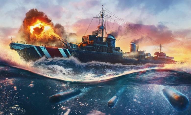 Atualização 0.10.3 de World of Warships