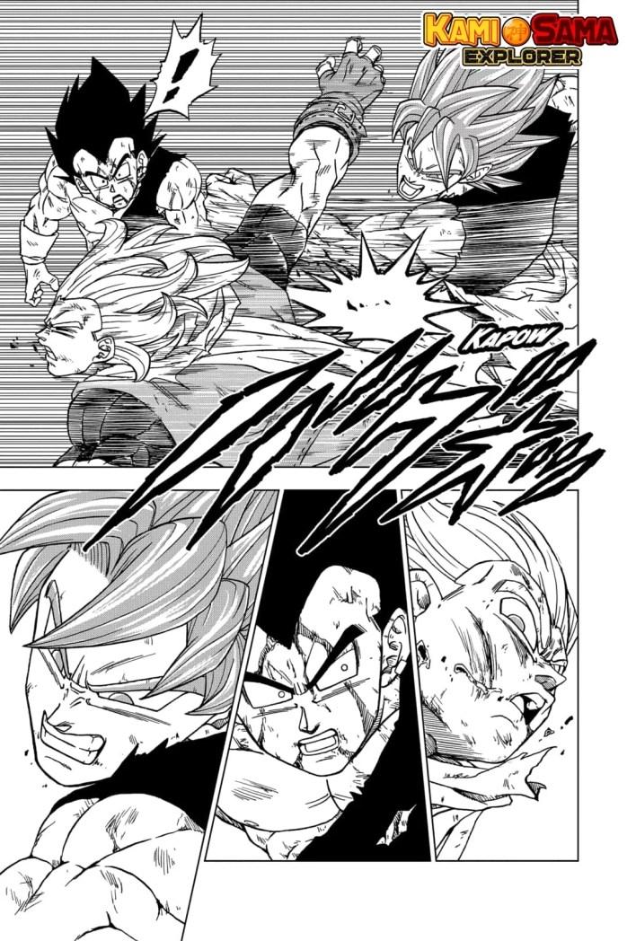 Dragon Ball Super Capítulo 76 - Goke e Vegeta Vs Granola