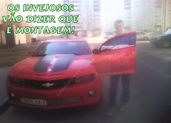 montagem carro