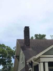 masonry chimney with nice cap