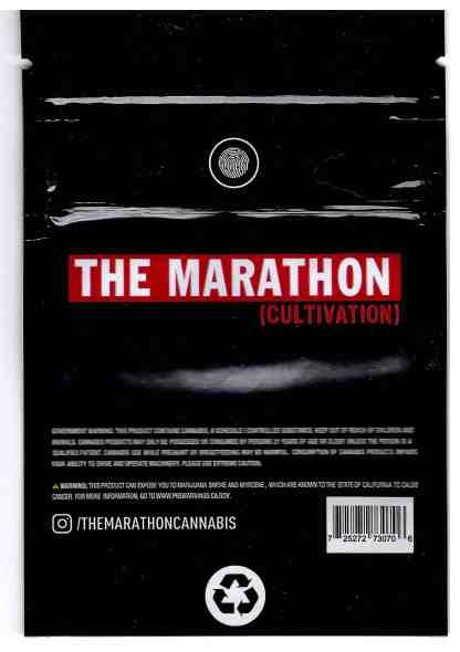 The Marathon - Napoleon Mylar Bag (back)