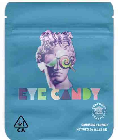 Cookies - Eye Candy Mylar Bags (front)