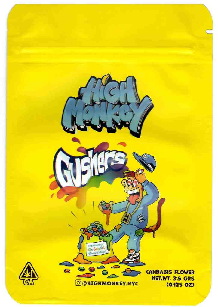 High Monkey - Gushers (front)
