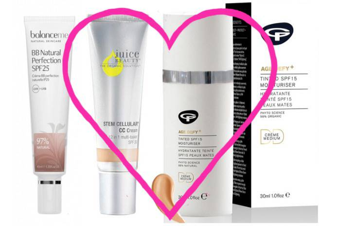 Three of my favourite facial SPF….