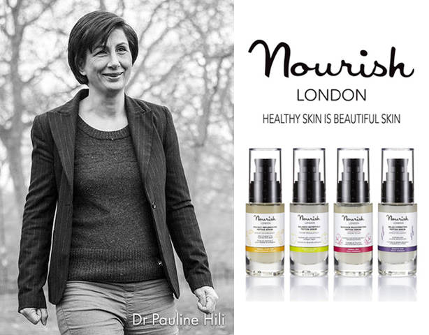 5 mins with Dr Pauline Hili, founder of Nourish skincare..