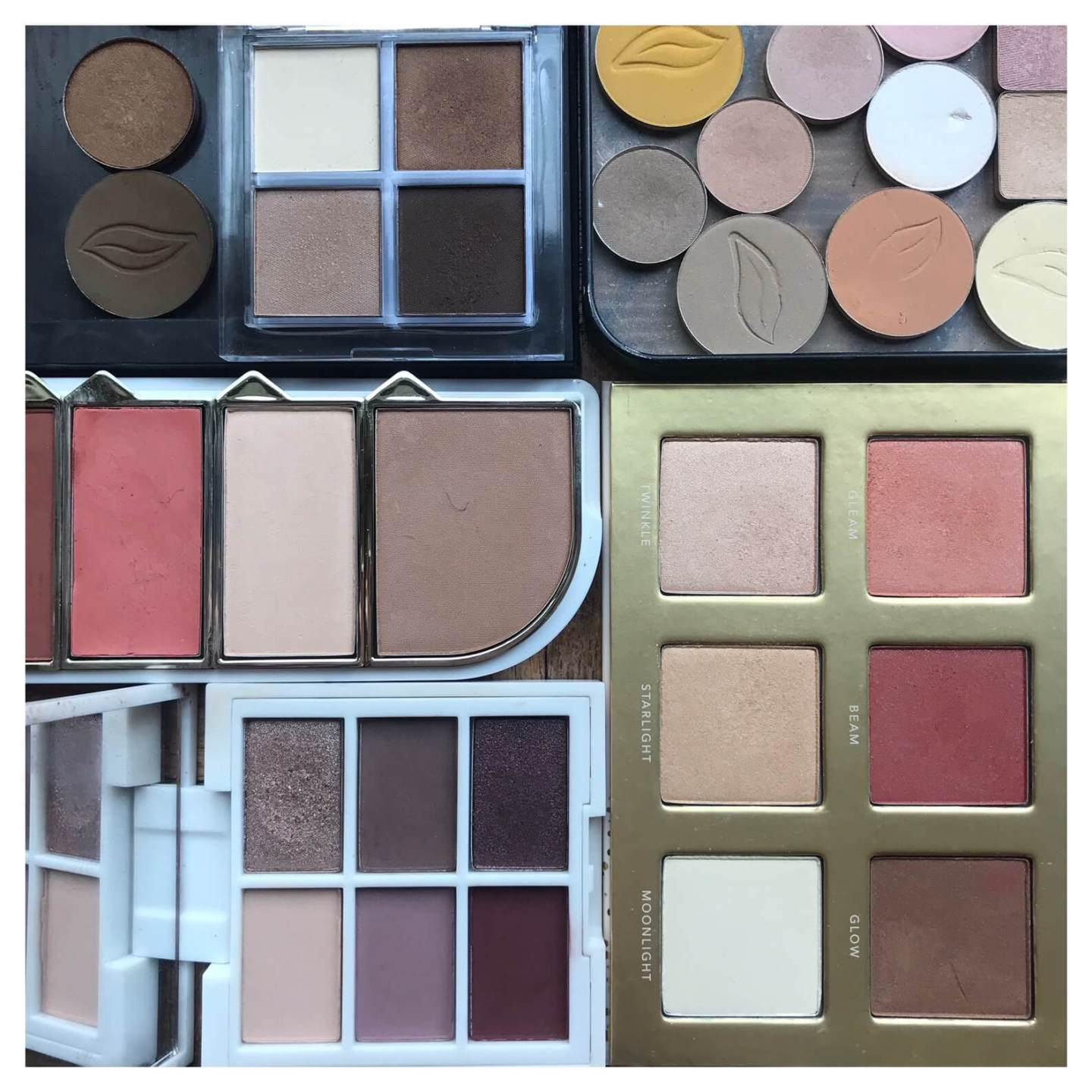 some of my favourite make-up palettes