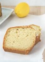 Vegan Lemon Loaf - sliced
